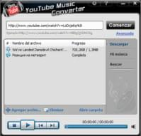 descargar la música de YouTube