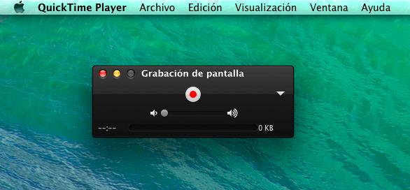 grabar video desde pantalla mac