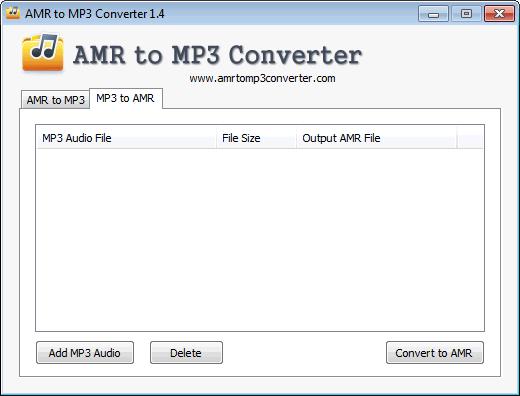 programa para converter audio amr em mp3