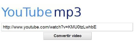 Pasar video de youtube a mp3